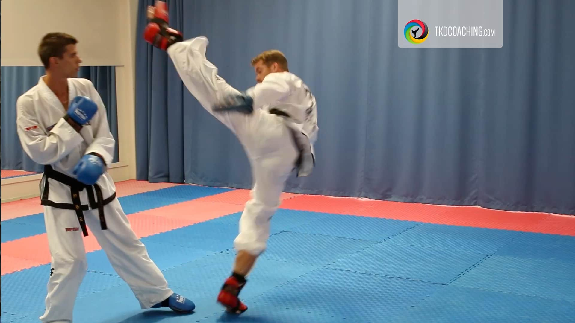 Technical Competence & Strategic Scenarios for Free Sparring - The Haxe Kick