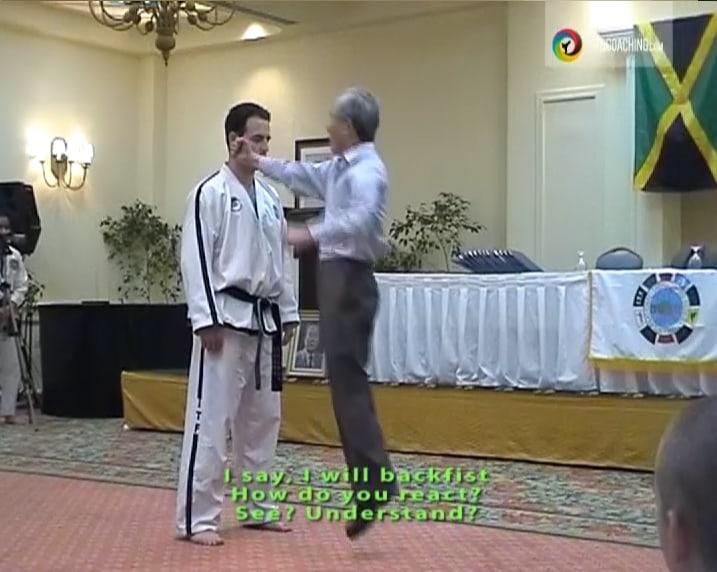 Gen Choi Instructing
