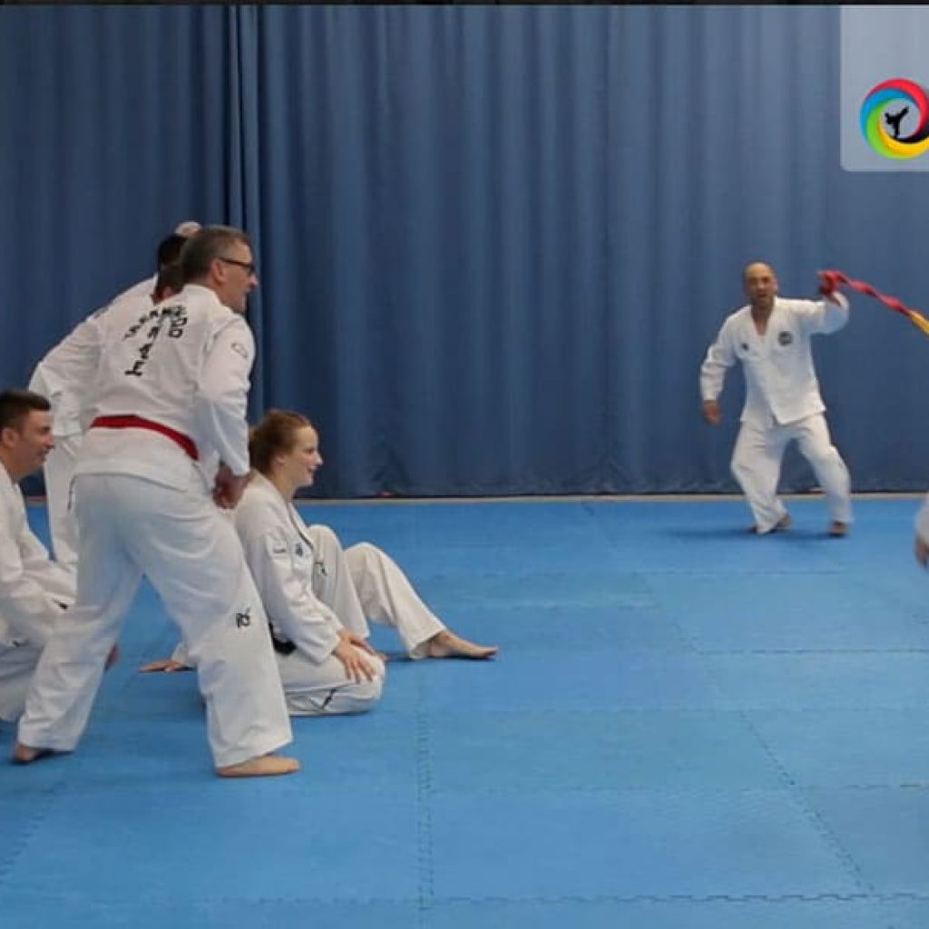 Creative games for kids in martial arts