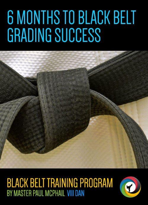 6 months to black belt grading