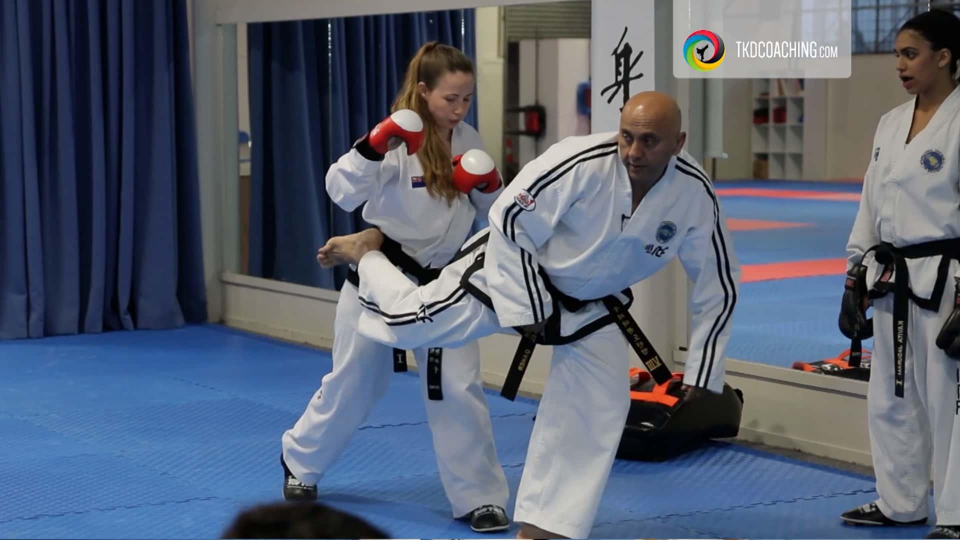 Master Daher Sparring Class