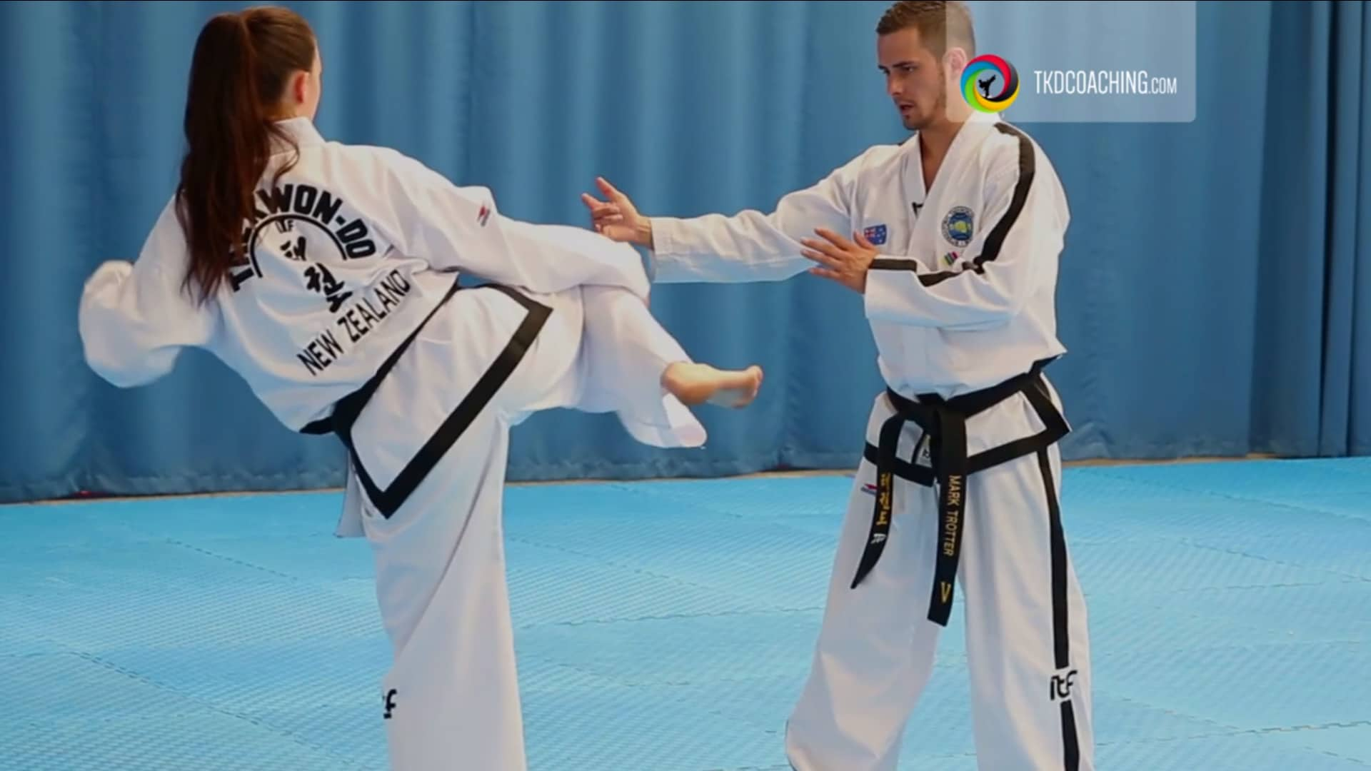 juche Tul with Mark Trotter