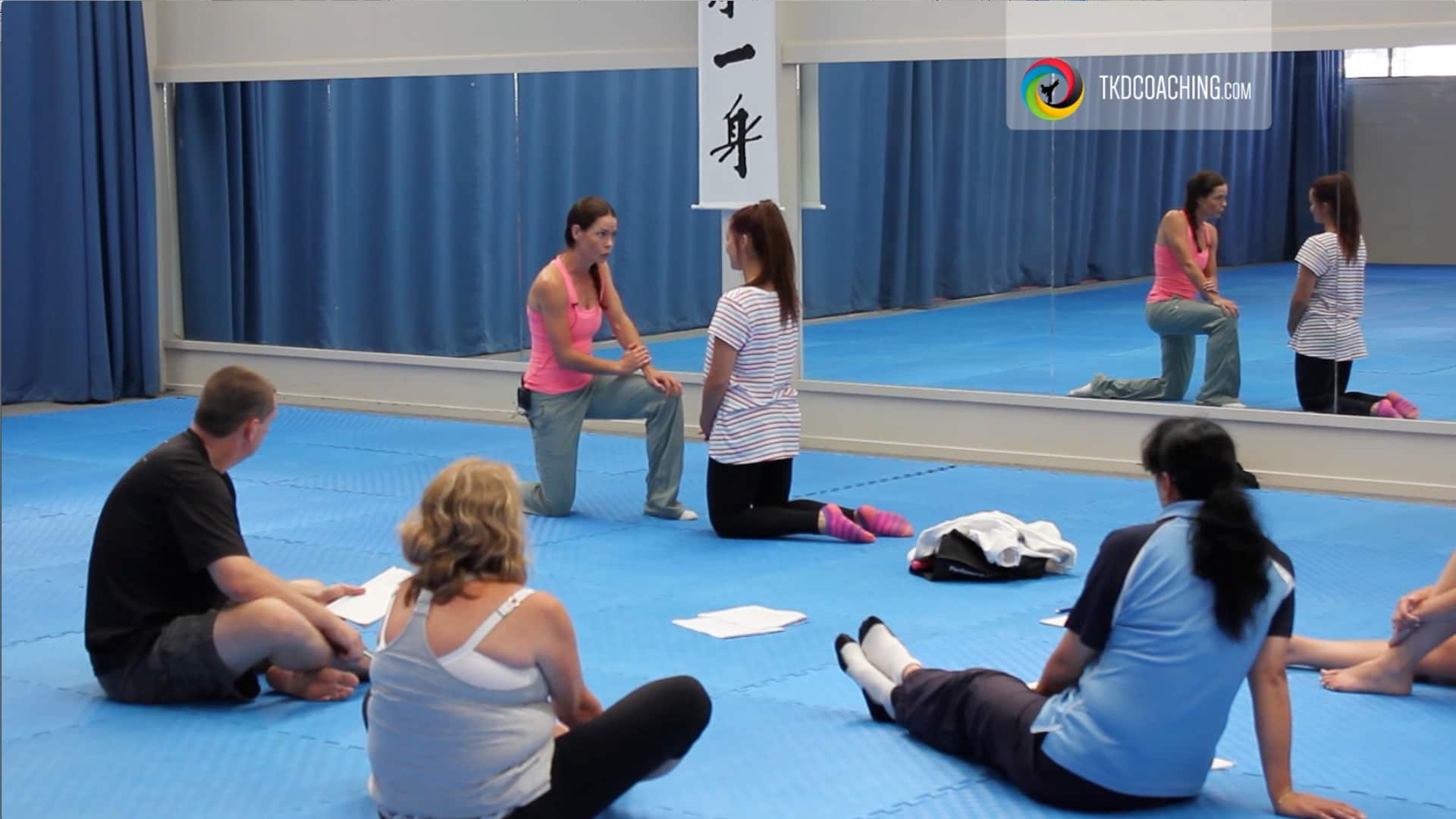 Discipline when teaching Kids TKD