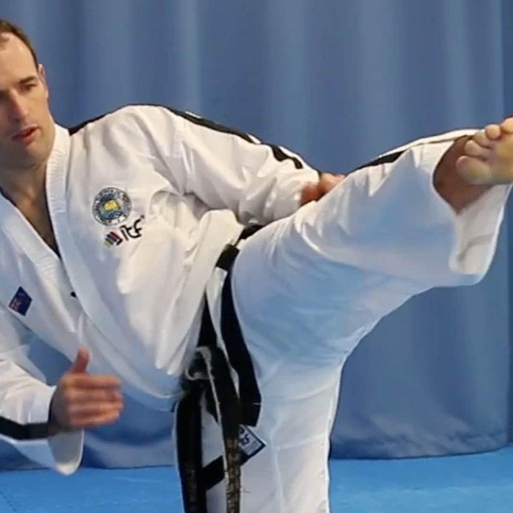 Master Gray Patterson Kicking