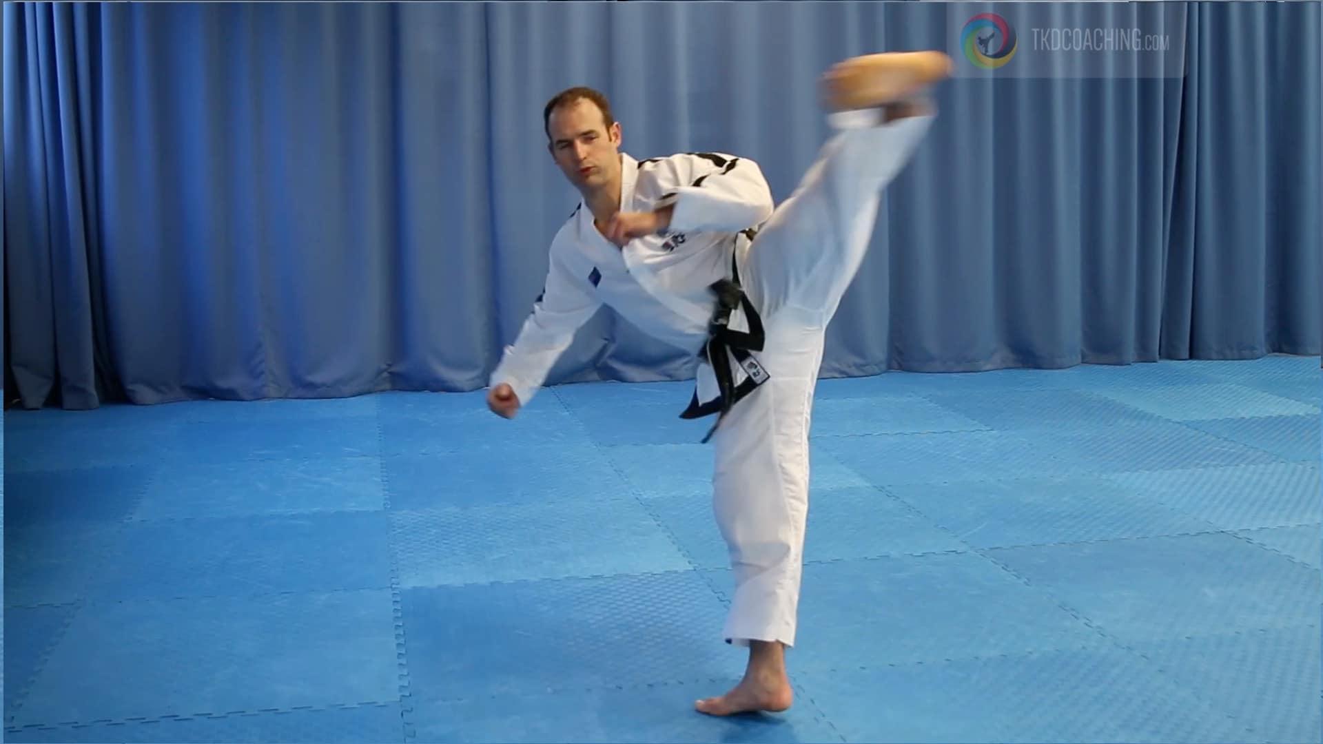 Master Gray Patterson Reverse Turning Kick