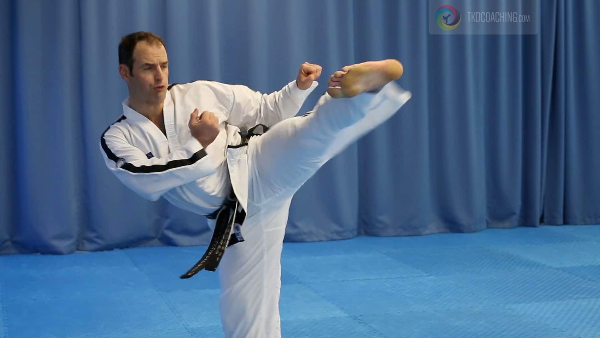 Master Gray Patterson Turning Kick
