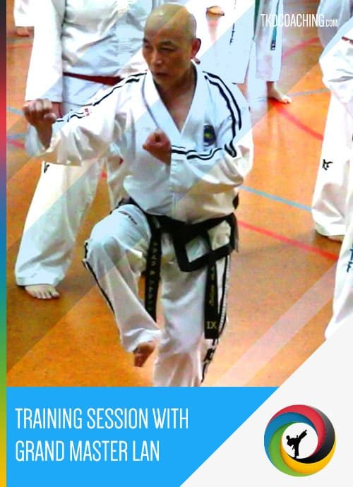 Training Session with Grand Master Lan