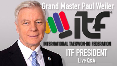 ITF President Live Q and A