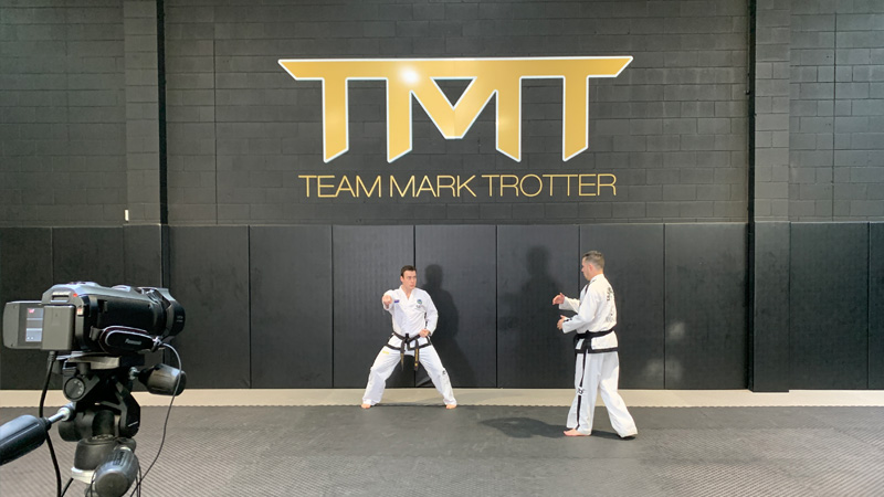 Yul-Gok with Mark Trotter
